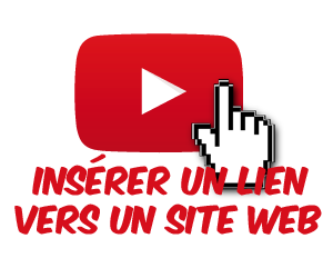 Insérez un lien cliquable dans une vidéo vers un site web