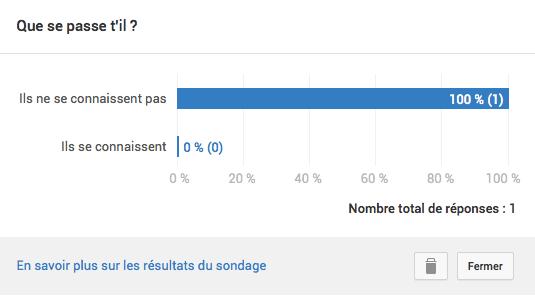 Afficher les résultats des fiches de sondage youtube